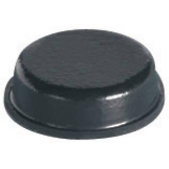 PB bevestiger BS-34-BK-R-12 voet zelfklevende, circulaire zwart (Ø x H) 9,5 x 3,2 mm 12 PC('s)