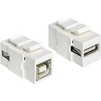 Delock USB 2,0 adaptér [1x USB 2,0 port A-1x USB 2,0 port B] 1982627