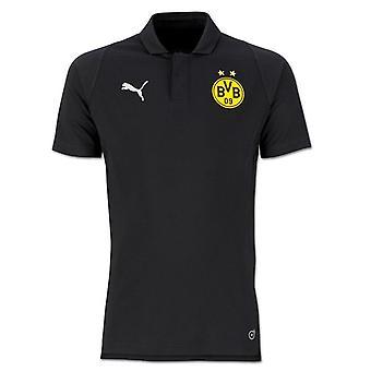 2018-2019 Borussia Dortmund Puma Koszulka Polo modne (czarny)
