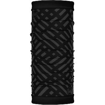 Buff New Polar Reversible Neck Warmer in Platinum Graphite/Black