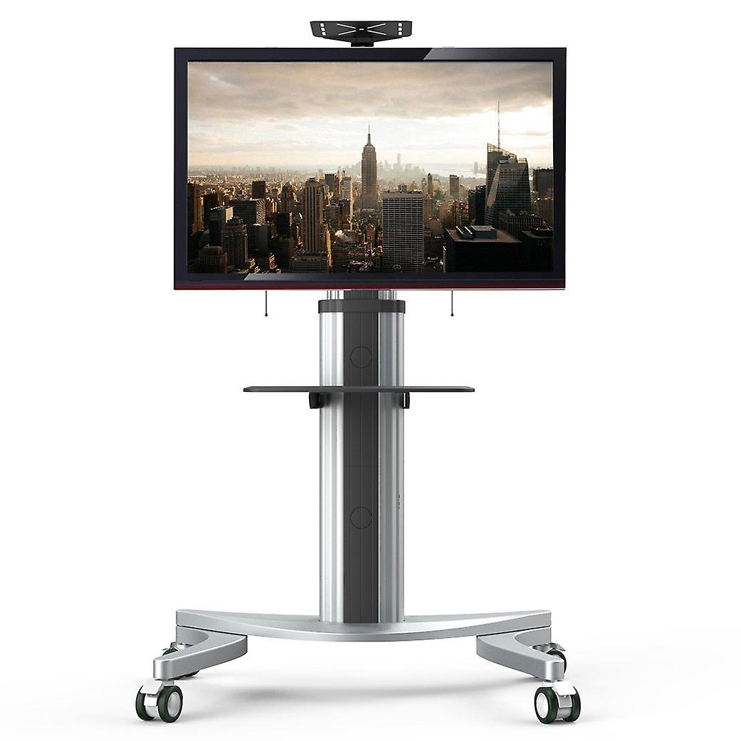 Fleximounts P2 Mobile Tv Floor Cart Stand Fits For 32-70 inch LCD Led Plasma Flat Panels Stand With Wheels