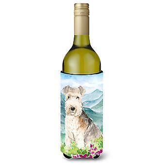 جبل الزهور ليكلاند الكلب زجاجة النبيذ المشروبات عازل نعالها
