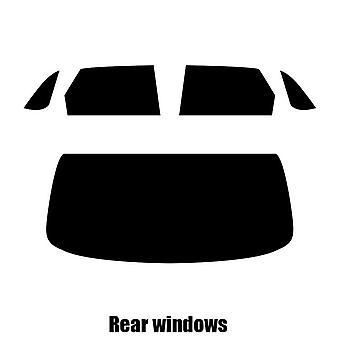 Pre cut window tint - Bentley Bentayga - 2017 and newer - Rear windows