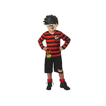 Rubiner Dennis Menace kostym Fancy Dress