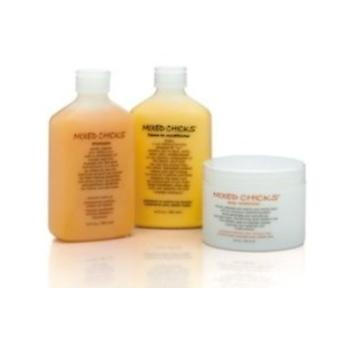 Mixed Chicks Triple Pack  (Shampoo, Leave-in Conditioner, Deep Conditioner)