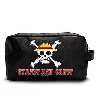 One piece bag skull Luffy black, printed, 100% polyester with zipper.