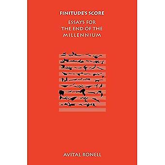 Endlichkeit der Partitur: Essays für das Ende des Jahrtausends