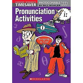 Pronunciation Activities: Elementary - Intermediate (Timesaver)