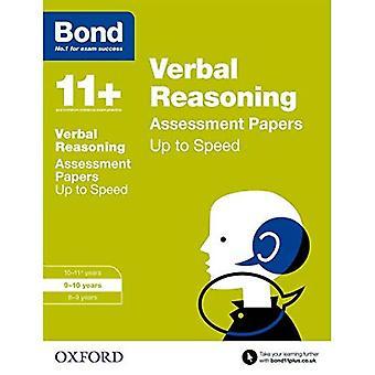 Bond 11 +: Wnioskowanie słownej: do praktyki prędkość: 9-10 lat