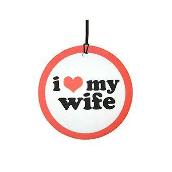 Ich liebe meine Frau Auto-Lufterfrischer