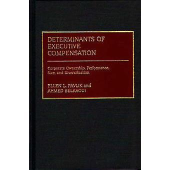 Determinanter av Executive Compensation bolagsägande prestanda storlek och diversifiering av Belkaoui & Ahmed R.