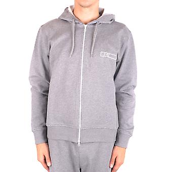 Fay Ezbc035038 Men's Grey Cotton Sweatshirt
