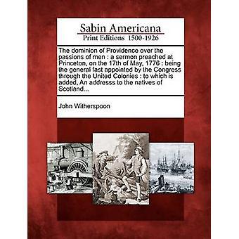 Providence herruuden intohimot miehiä saarna saarnasi Princeton 17 toukokuuta 1776 on nimitetty kongressi kautta Iso siirtomaita johon Witherspoon & John ehdot nopeasti