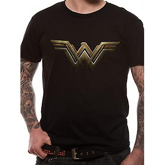 Filme da Mulher Maravilha da DC Comics - Camiseta logo