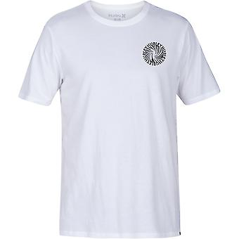 Hurley Wormhole Short Sleeve T-Shirt in White