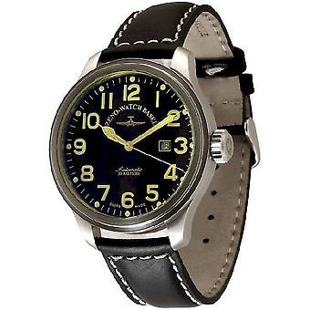 Zeno-Watch Herrenuhr OS Pilot Flash Automatic 8554-a1-FL