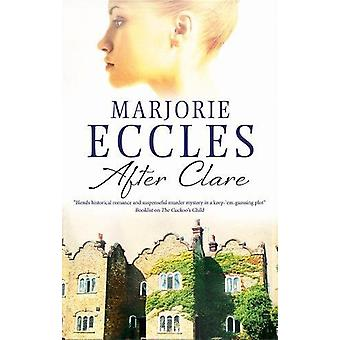After Clare by Marjorie Eccles - 9780727893291 Book