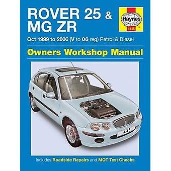 Rover 25 & MG ZR Owners Workshop Manual - 9781785213144 Book