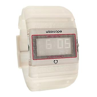 Wize and Ope Seventy Seven Clear Digital  Watch WO-77-7