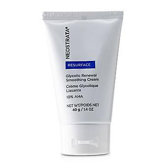 Neostrata Resurface - Glycolic Renewal Smoothing Cream - 40g/1.4oz