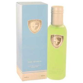 Swiss Guard By Swiss Guard Eau De Toilette Sprey 3.4 Oz (kadın) V728-501491