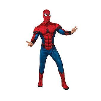 Voksen Spiderman kostume