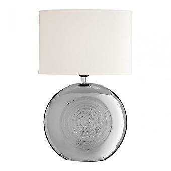 Premier Home Holly Table Lamp, Argent