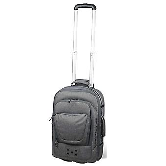 Sun Mountain Wheeled Carry-On Flight Travel Luggage Bag Iron Grey