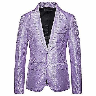 Allthemen Men's Banquet Wedding Celebration Business Suit Jacket