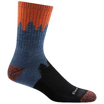 Darn Tough Lava Mens Number 2 Micro Crew Cushion Sock