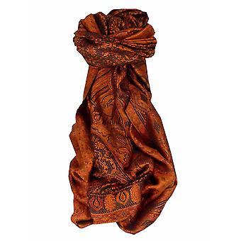 Mens Jamawar Premium Silk Scarf Modello 3329 di Pashmina & Silk
