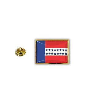 Pins Pin Badge Pin's Metal Broche Pince Papillon Drapeau Tuamotu Polynesie