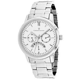 Christian Van Sant Men's Alden Silver Dial Watch - CV0320