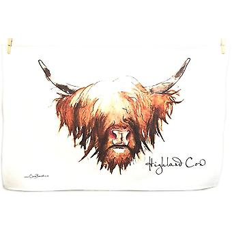 Clare Baird Highland Collection - Highland Cow Tea Towel