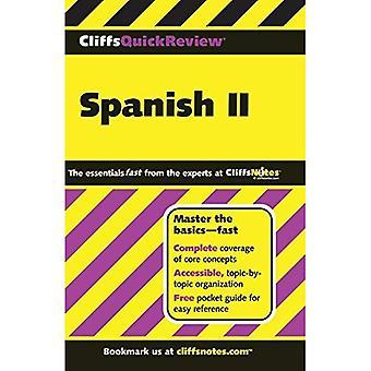 Spanska II: v. 2 (Cliffs Quick Review)