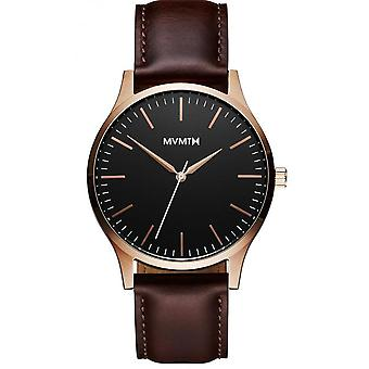 MVMT D-MT01-BLBR Watch - Men's Brown Leather Watch