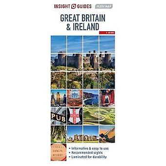 Insight Guides Flexi Map Great Britain  Ireland