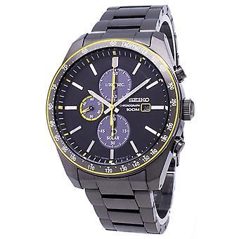 Seiko Solar SSC723 SSC723P1 SSC723P Cronograf Analog Men&s Watch