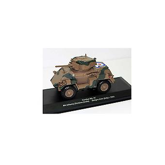 Humber MK IV (8th Infantry Division (Indien)-Sangro River Italy 1943) Diecast pansrede bil