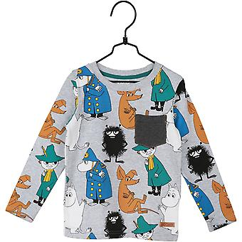 Moomin trui Scouts, donkergrijs