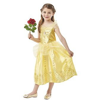 Girls Gem Princess Belle Fancy Dress Costume