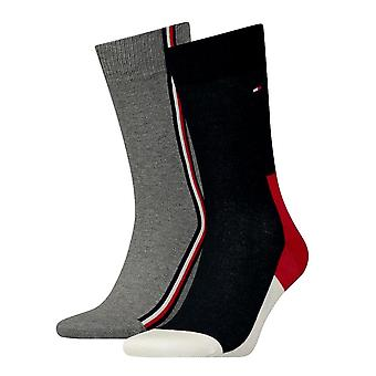 Tommy Hilfiger 2 Pack Iconic Cotton Blend Socks - Tommy Original
