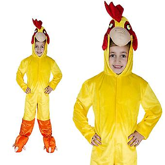 Pollo gallo fattoria bambini costume un pezzo del costume pollo