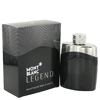 Montblanc legend eau de toilette spray by mont blanc 497589 100 ml