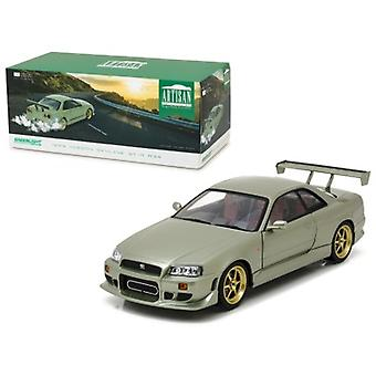 1999 Nissan Skyline GT-R (R34) Millennium Jade 1/18 Diecast Model Car  by Greenlight