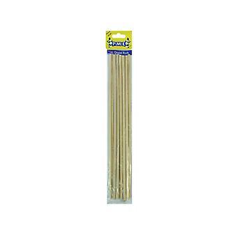 PME Houten Dowel Rods Pack Van 12