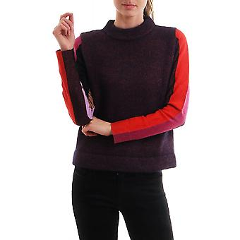 Paul Smith Womens Chunky Contrast Sleeved Jumper