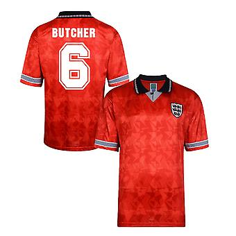 Score Draw England World Cup 1990 Away Shirt (Butcher 6)