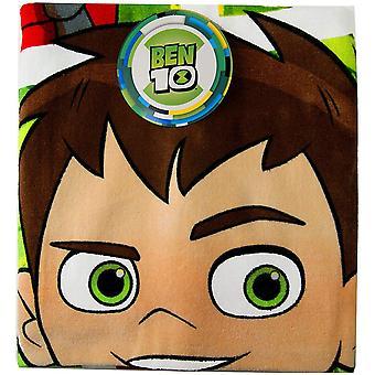 Ben 10 Childrens/Kids Frames Character Towel