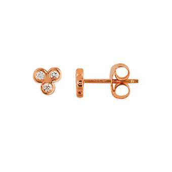 14k Gul Guld Gravable ID Armband Rolo Chain 7,50 Tums smycken gåvor för kvinnor